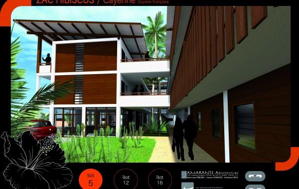 320 logements & ses équipements